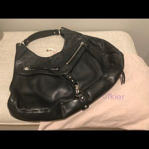 Black leather Botkier shoulder bag